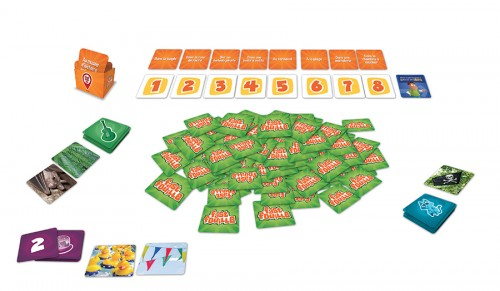 fast fouille party game