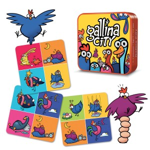 Gallina city jeu communication