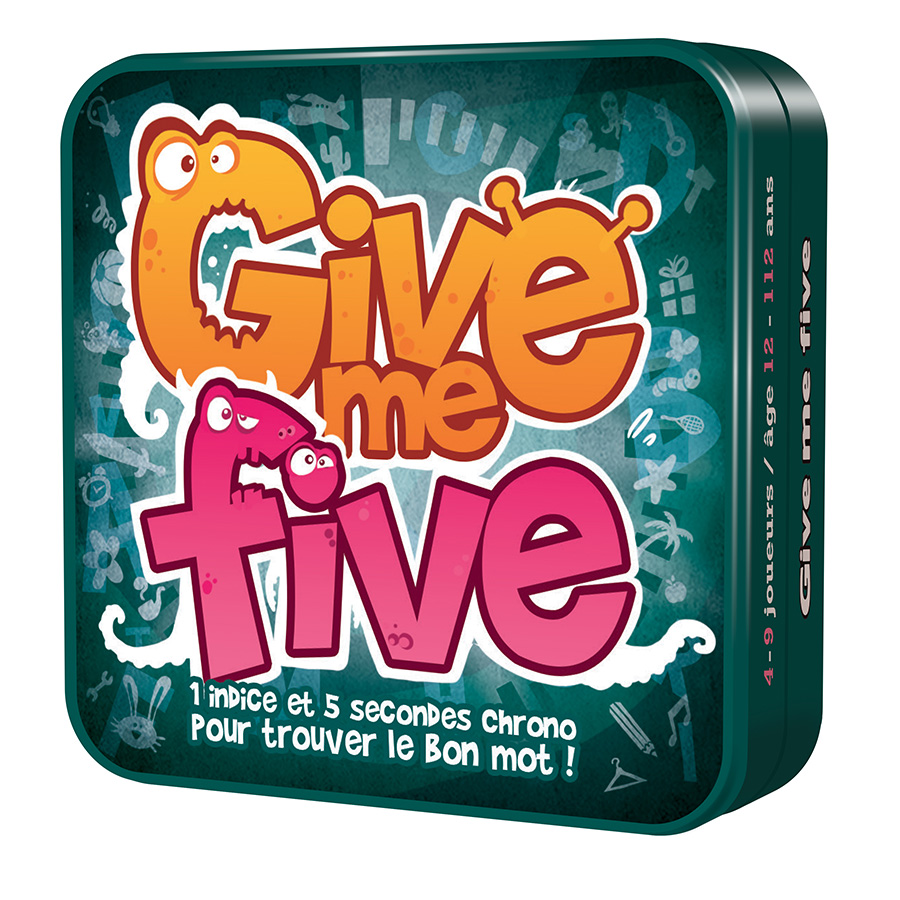 Give me five jeu apéro