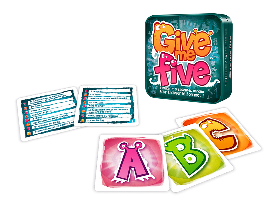 Give me five jeu rigolo