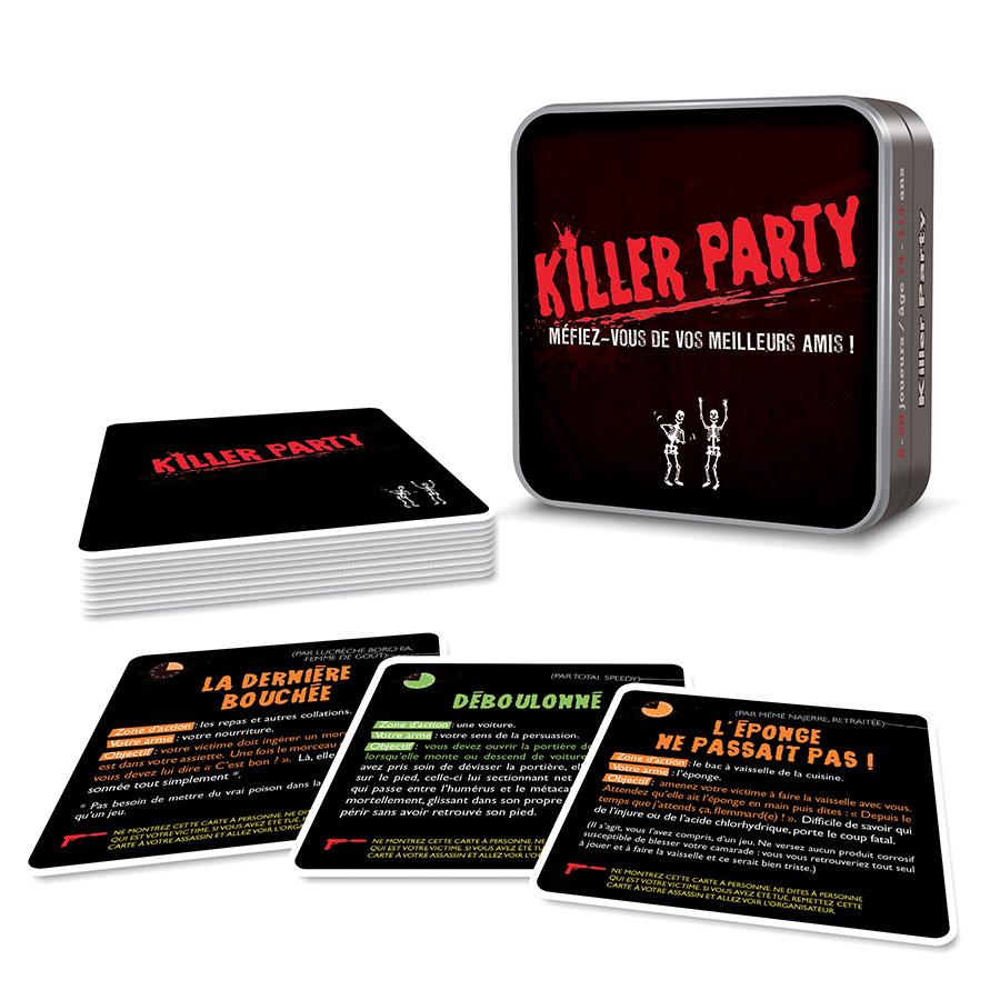 Killer party jeu soirée