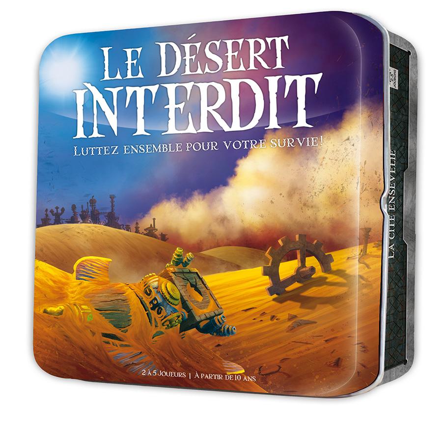 Le désert interdit jeu coopératif