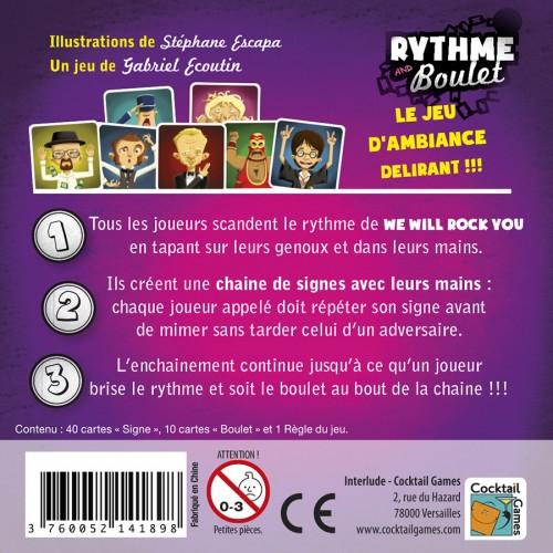 Rythme and boulet jeu rigolo