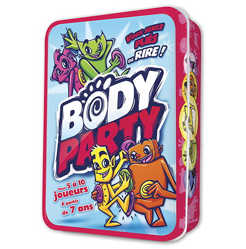 Body party jeu drôle