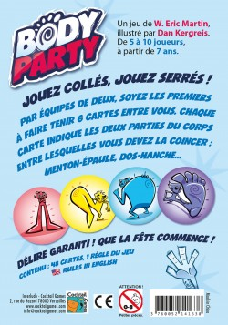 Body party jeu animation