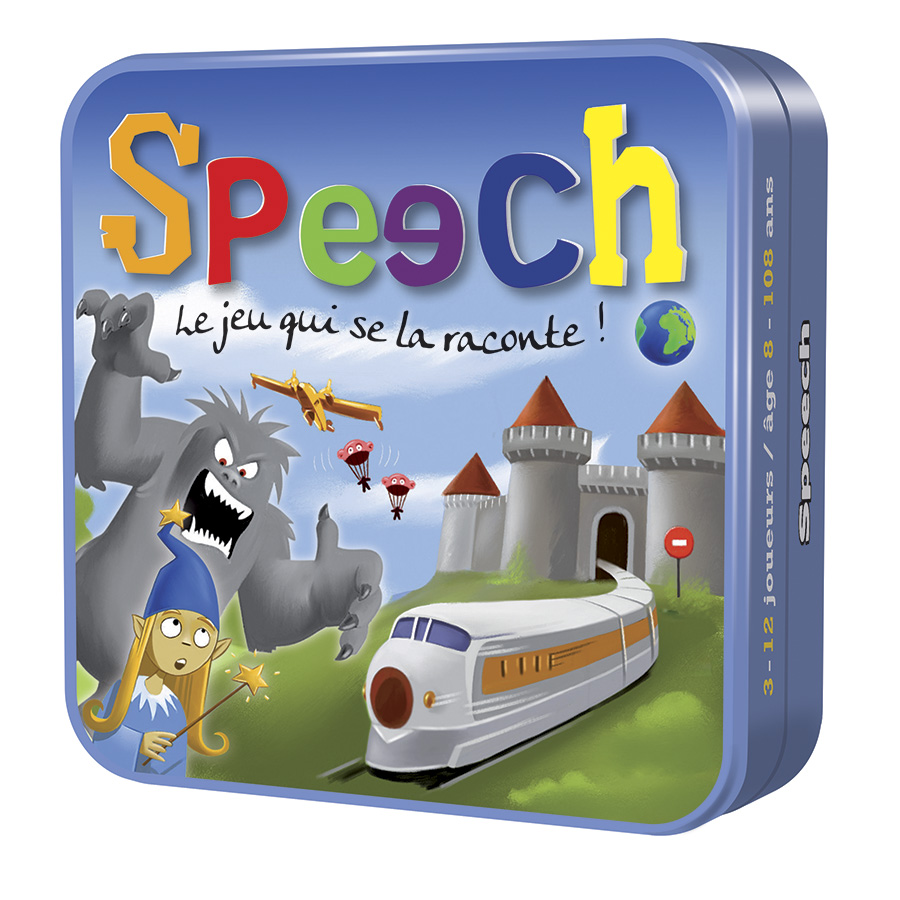 Speech jeu rigolo