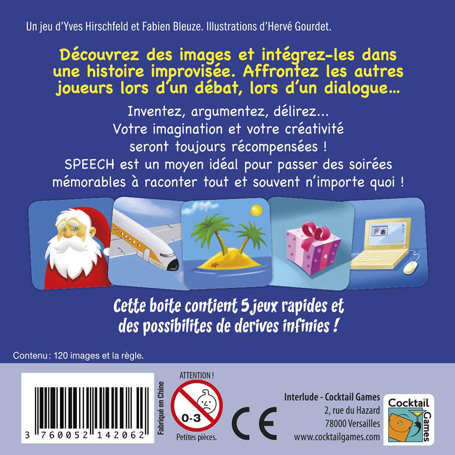Speech jeu marrant