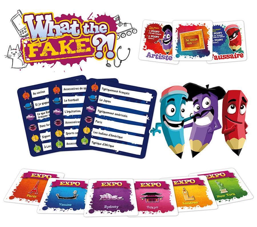 What the fake jeu facile