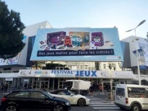 affiche jeux à Cannes