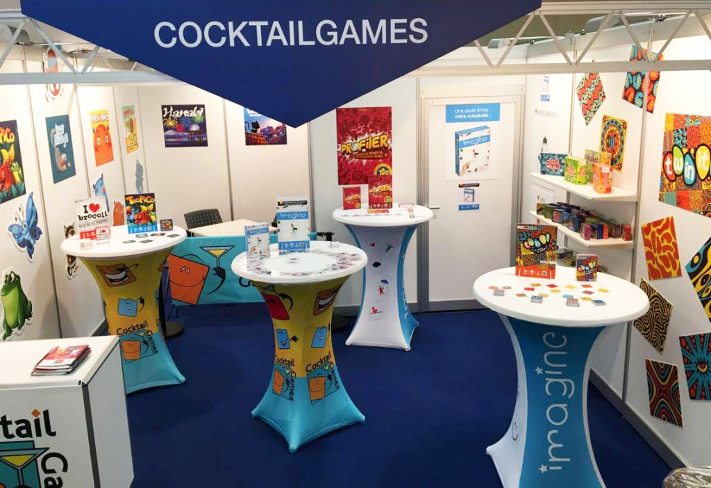 Stand Cocktail Games à Nuremberg 2017