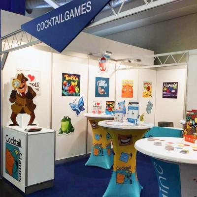 Le stand Cocktail Games à Nuremberg 2017