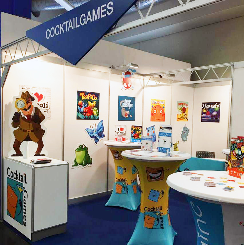 Le stand Cocktail Games à Nuremberg 2017