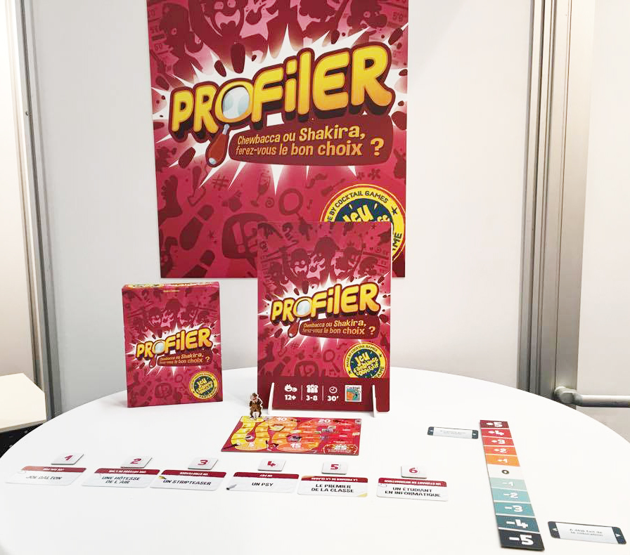 PROFILER sur le stand Cocktail Games à Nuremberg 2017