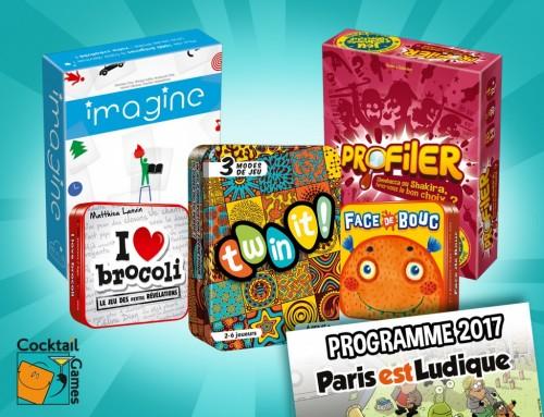 Cocktail Games au festival Paris est Ludique