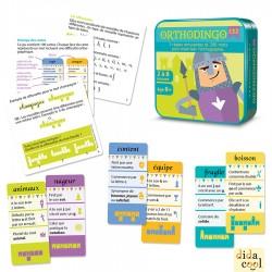 orthodingo CE2 jeu éducatif