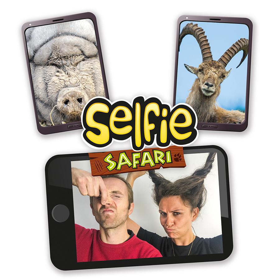Selfie safari jeu drôle
