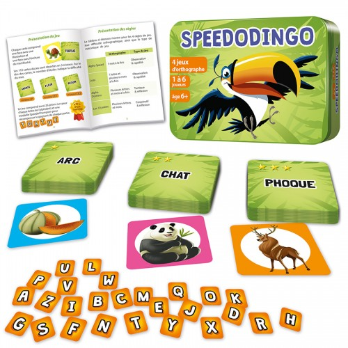 Speedodingo jeu éducatif