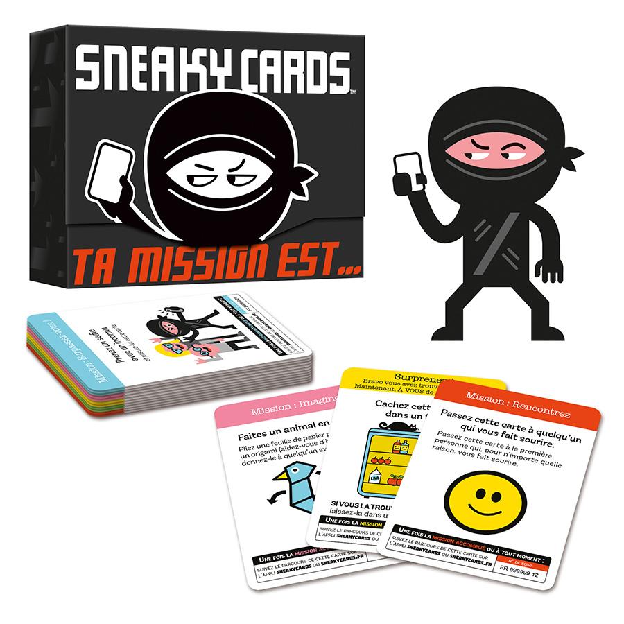 Sneaky Cards jeu drôle