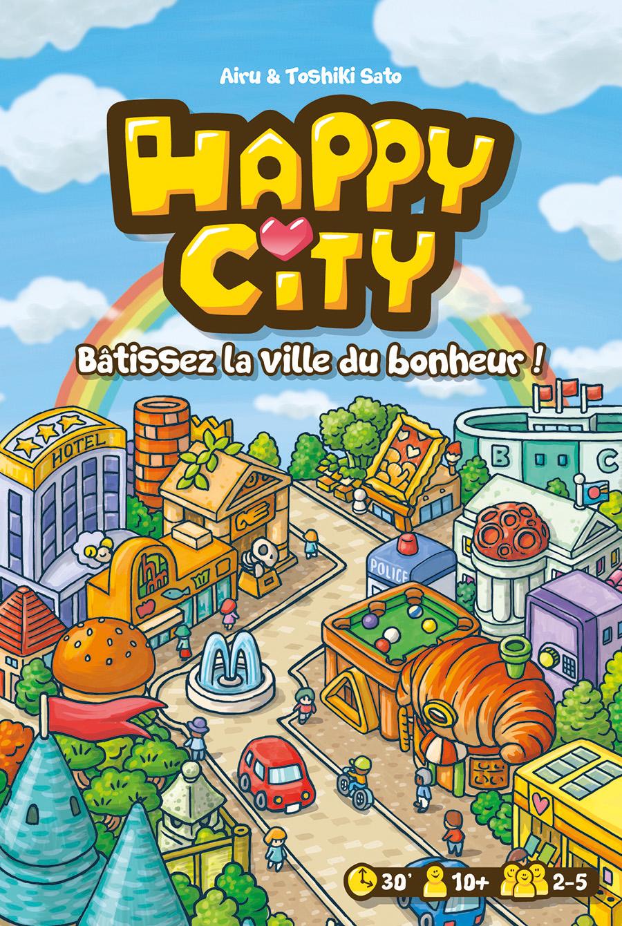 Happy city jeu tactique