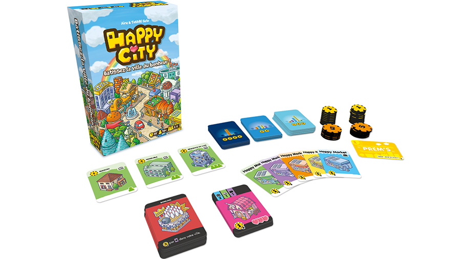 Happy city jeu stratégie